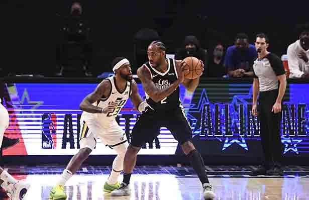 Leonard 29 punti, Mitchell tagliato 35 punti, Clippers Rick Jazz